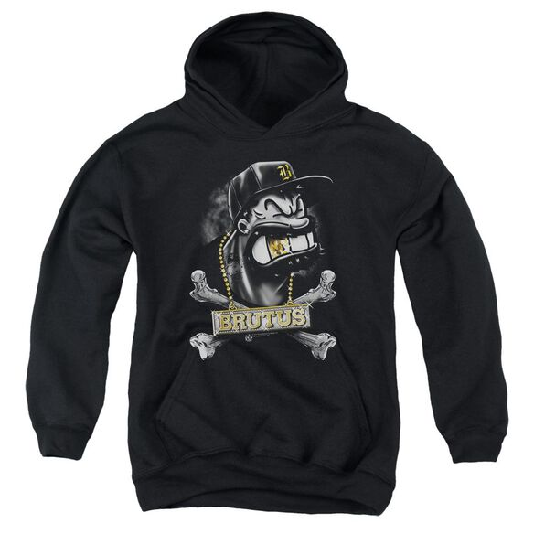 Popeye Brutus Youth Pull Over Hoodie