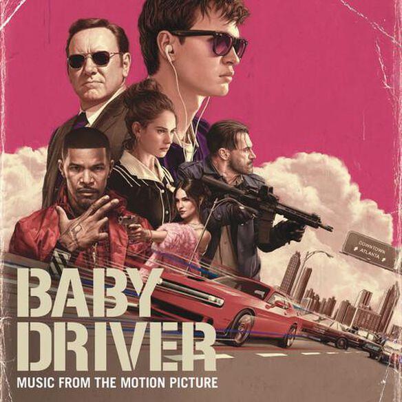 Baby Driver [Includes Digital Copy] [4K Ultra HD Blu-ray/Blu-ray]