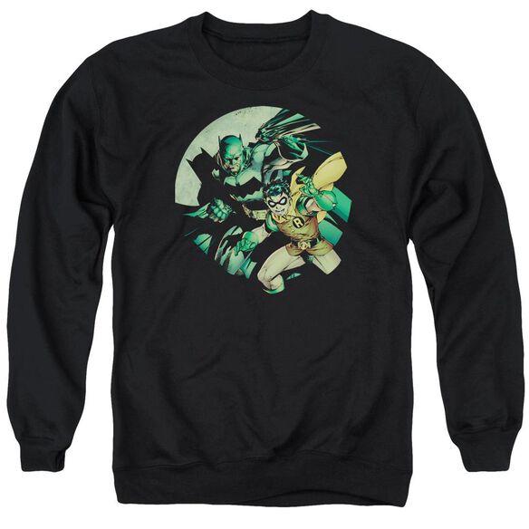 Batman Batman And Robin Adult Crewneck Sweatshirt