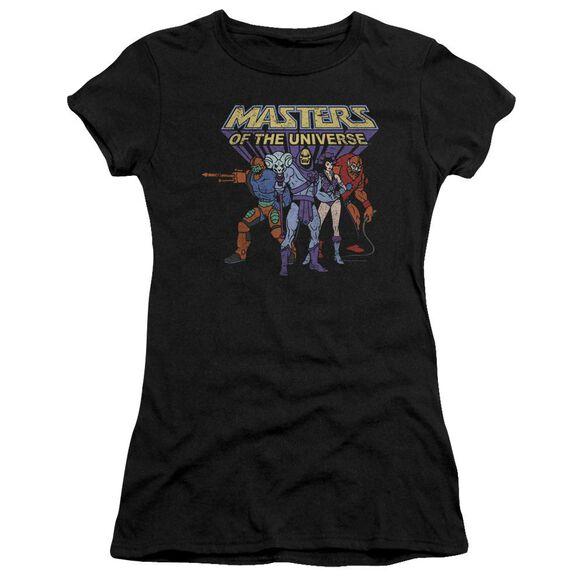 Masters Of The Universe Team Of Villains Short Sleeve Junior Sheer T-Shirt