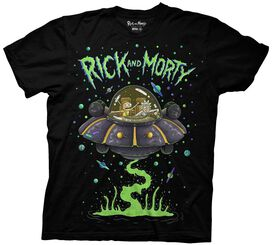 Rick and Morty Ship Dumping T-Shirt