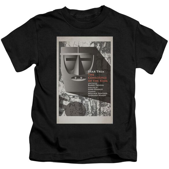 Star Trek Tos Episode 13 Short Sleeve Juvenile Black Md T-Shirt
