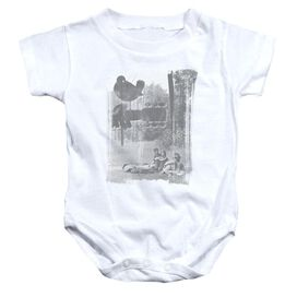 Woodstock Hippies In A Field Infant Snapsuit White
