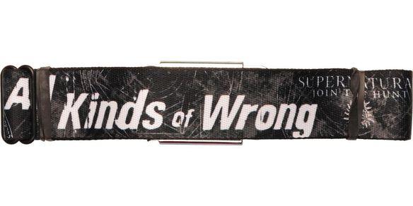 Supernatural All Kinds of Wrong Seatbelt Belt