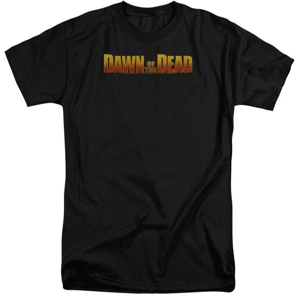Dawn Of The Dead Dawn Logo Short Sleeve Adult Tall T-Shirt