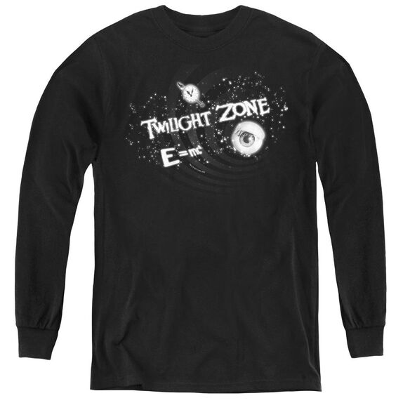 Twilight Zone Another Dimension - Youth Long Sleeve Tee - Black