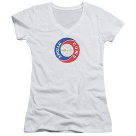Nasa Apollo Soyuz Junior V Neck T-Shirt