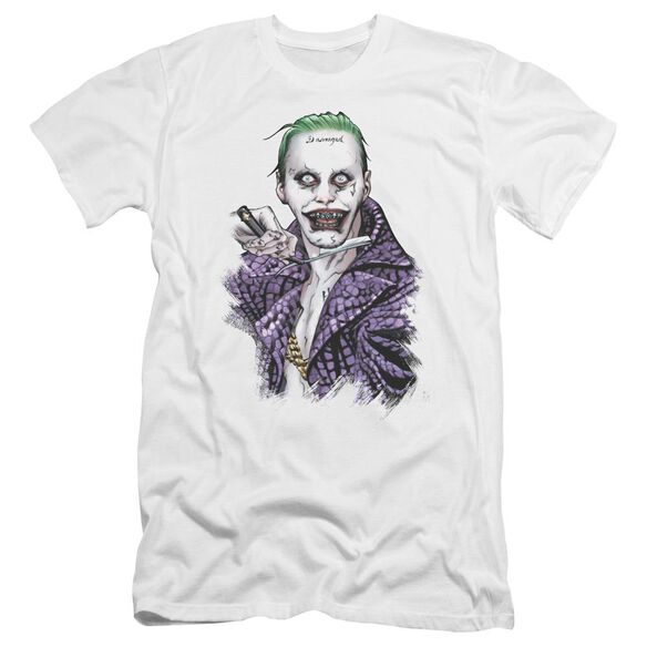 Suicide Squad Blade Premuim Canvas Adult Slim Fit