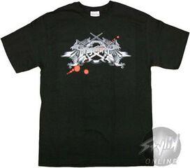 Dragonforce Blood Drops T-Shirt