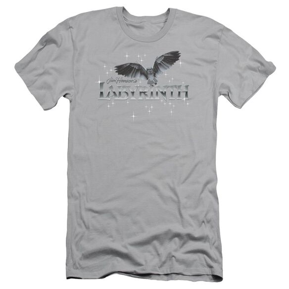 Labyrinth Owl Logo Short Sleeve Adult T-Shirt