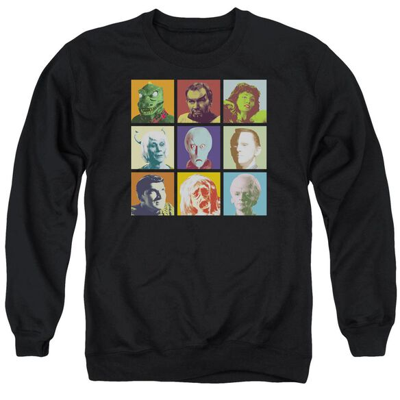 Star Trek Alien Squares Adult Crewneck Sweatshirt