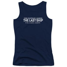 Last Ship Find The Cure Juniors Tank Top