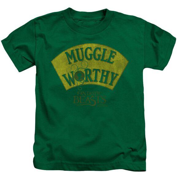 Fantastic Beasts Muggle Worthy Short Sleeve Juvenile Kelly T-Shirt