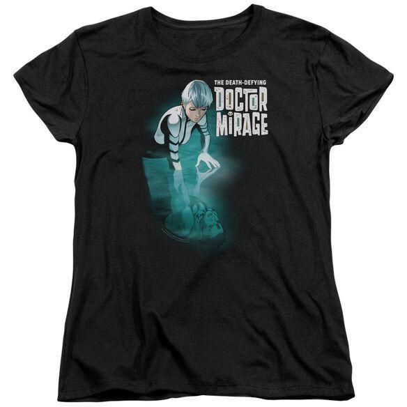 Doctor Mirage Crossing Over Short Sleeve Womens Tee T-Shirt