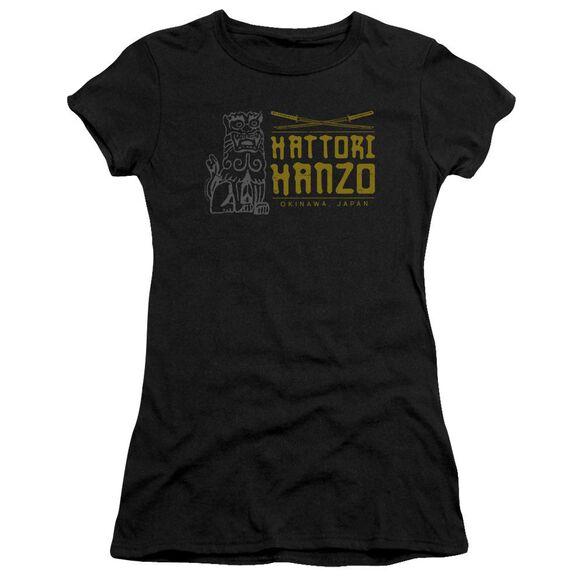 Kill Bill Hanzo Swords Short Sleeve Junior Sheer T-Shirt