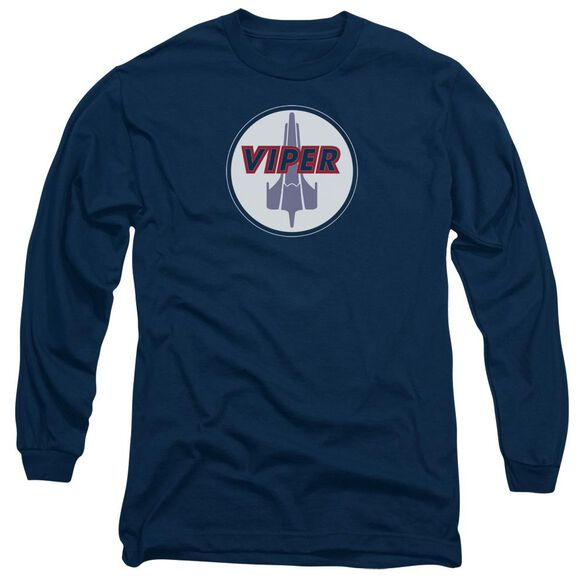 Bsg Viper Badge Long Sleeve Adult T-Shirt