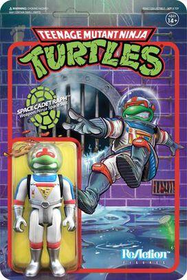 Teenage Mutant Ninja Turtles Space Cadet Raphael ReAction Figure