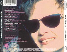 Diane Schuur - Love Songs