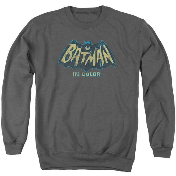 Batman Classic Tv In Color Adult Crewneck Sweatshirt
