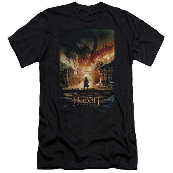 Hobbit Smaug Poster Short Sleeve Adult T-Shirt