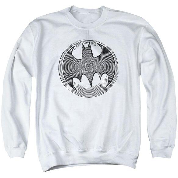 Batman Knight Knockout Adult Crewneck Sweatshirt
