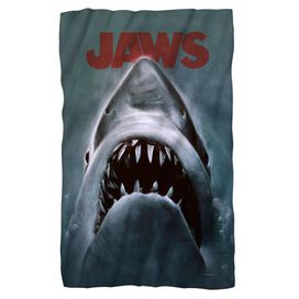 Jaws Shark Fleece Blanket