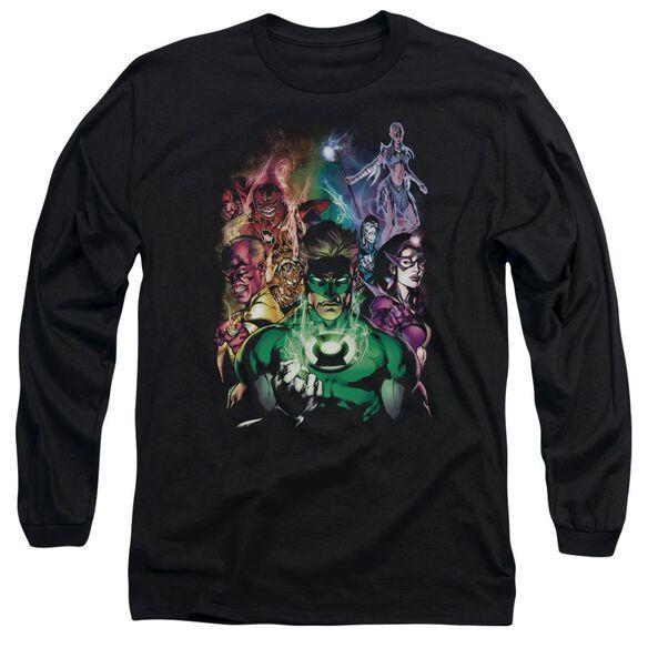 Green Lantern The New Guardians Long Sleeve Adult T-Shirt