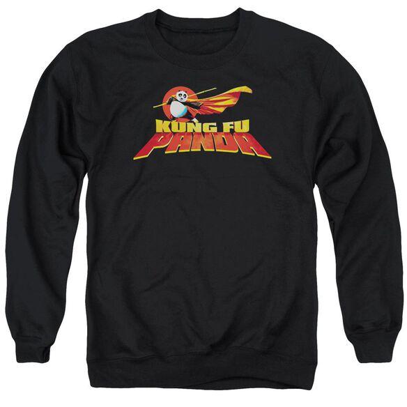 Kung Fu Panda Logo Adult Crewneck Sweatshirt