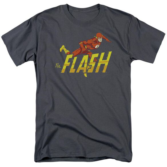 Dc 8 Bit Flash Short Sleeve Adult T-Shirt