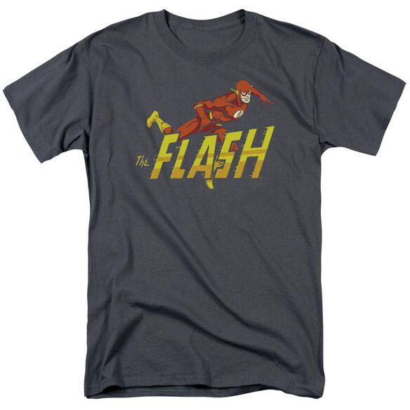 Dc 8 Bit Flash Short Sleeve Adult T-Shirt