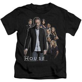 House Crew Short Sleeve Juvenile Black Md T-Shirt