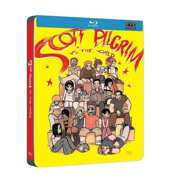Scott Pilgrim vs. the World [Exclusive Blu-ray Steelbook]