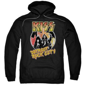 Kiss Detroit Rock City Adult Pull Over Hoodie