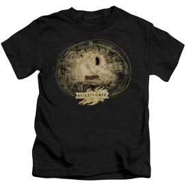 Mirrormask Sketch Short Sleeve Juvenile Black T-Shirt