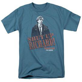 Tommy Boy Shut Up Richard Short Sleeve Adult Slate T-Shirt