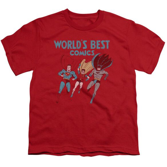 Jla Worlds Best Short Sleeve Youth T-Shirt