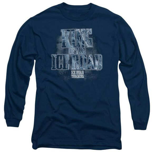 Ice Road Truckers King Of The Ice Road Long Sleeve Adult T-Shirt