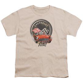 Chevrolet Vette Fun Short Sleeve Youth T-Shirt