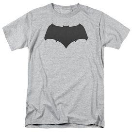 Batman V Superman Batman Logo Short Sleeve Adult Athletic Heather T-Shirt