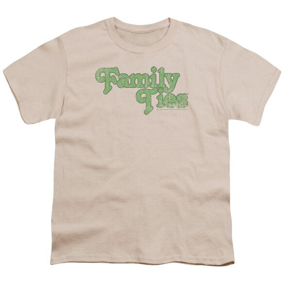 Family Ties Logo Short Sleeve Youth T-Shirt