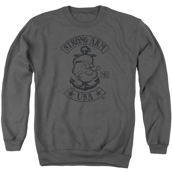 Popeye Strong Arm Mc Adult Crewneck Sweatshirt