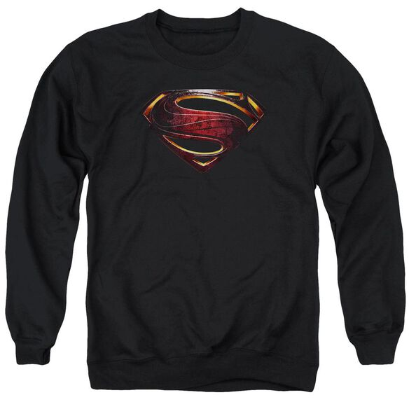 Justice League Movie Superman Logo Adult Crewneck Sweatshirt