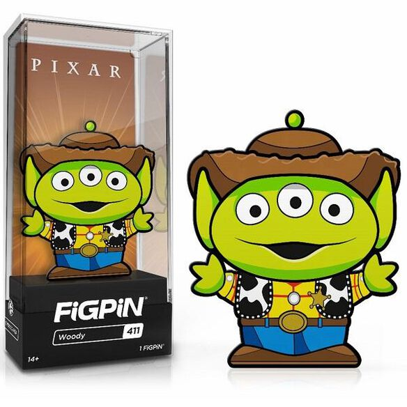 Disney - Alien Remix Alien Woody FiGPiN