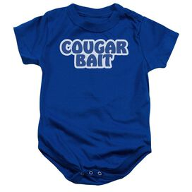 Cougar Bait Infant Snapsuit White Lg