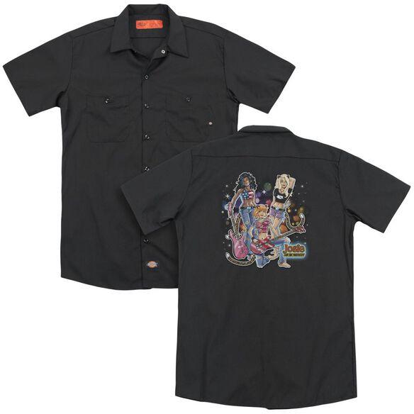 Archie Comics Pussycats Rock (Back Print) Adult Work Shirt