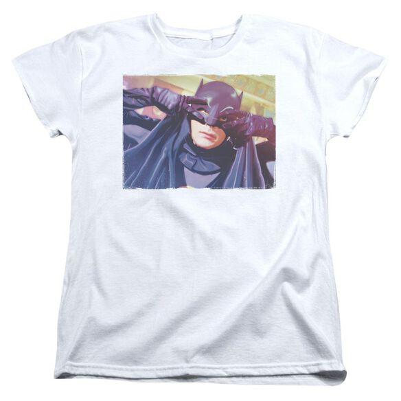 Batman Classic Tv Smooth Groove Short Sleeve Womens Tee T-Shirt