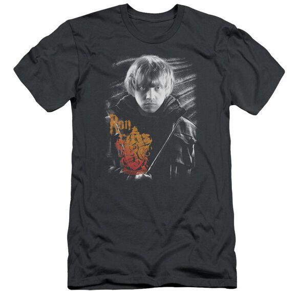 Harry Potter Ron Portrait Hbo Short Sleeve Adult T-Shirt