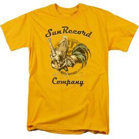 Sun Rockin Rooster Logo Short Sleeve Adult Athletic Heather T-Shirt