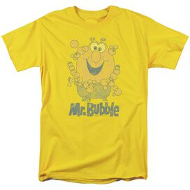 Mr Bubble Classy Classic Short Sleeve Adult T-Shirt