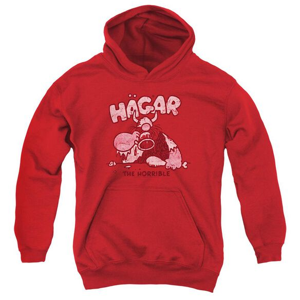 Hagar The Horrible Hagar Gulp Youth Pull Over Hoodie